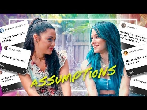 Niki & Gabi read assumptions about their relationships with their boyfriends
