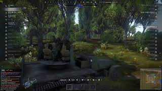 [War Thunder RB] Plane killed by the first shot of artillery