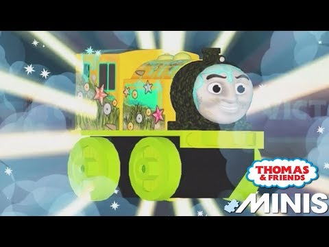 Thomas And Friends Minis - New Minis Full Set VICTOR - Fun Three Tailgate Minis Trackmaster