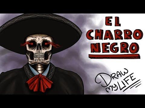 LA LEYENDA DEL CHARRO NEGRO | Draw My Life #miércolesdeterror con TikTak Draw