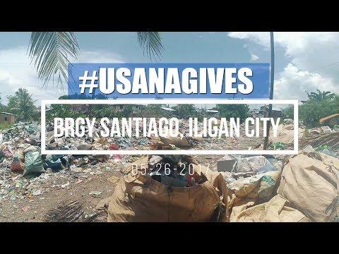USANA GIVES To Brgy Santiago Iligan City   World Service Week