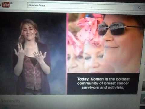 deanne bray talks about breast cancer