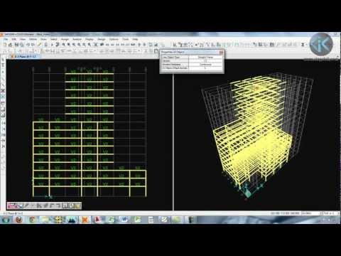 Video del Curso Libre Cálculo de Edificios de Concreto Armado con Sap2000