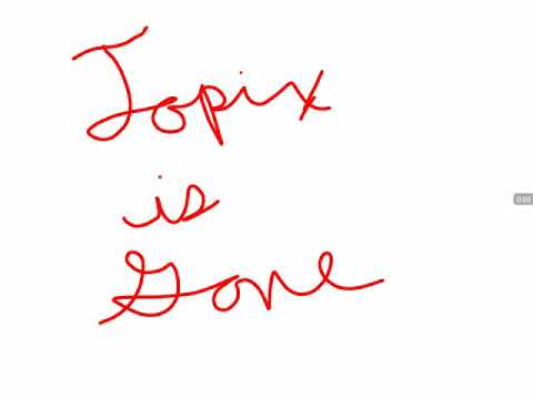 Topix Is Gone