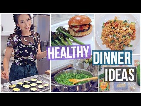 3 Healthy Vegetarian Dinner Ideas! IN MY NEW KITCHEN!!!