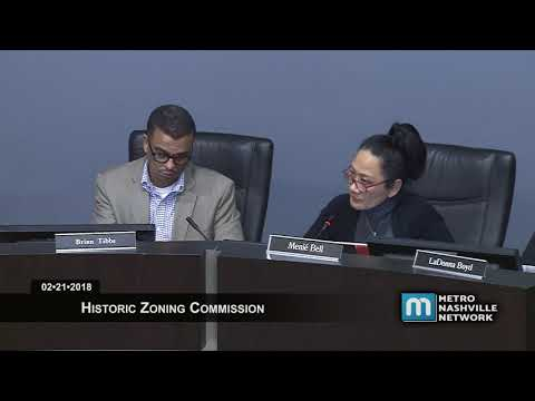 02/21/18 Historic Zoning Commission