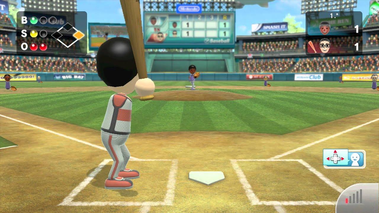 Wii Sports Club Baseball Online Game Youtube