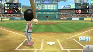 Wii Sports Club - Baseball: Online Game