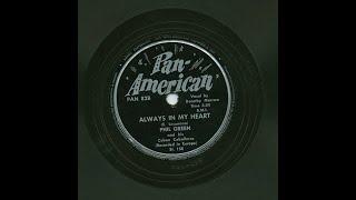 Phil Green - Always In My Heart - Pan - American PAN82B