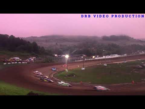 Hidden Valley Speedway Super Late Model Heat 1 of 2 7/6/19