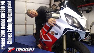 Chinese Fairing unboxing Project 2001 Honda Cbr600 F4i Episode 4