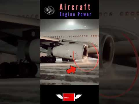 ✅SWISS Air Ready for Departure | AIRBUS 330 | SNOWFALL | Shorts