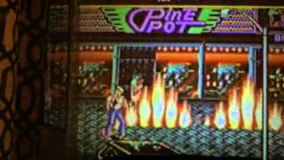 Streets of Rage 2! Sega Emulator, Unhappy video projector