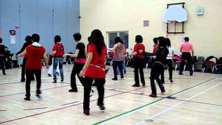 Lets Shake It ~ Line Dance @ Winnie Yu