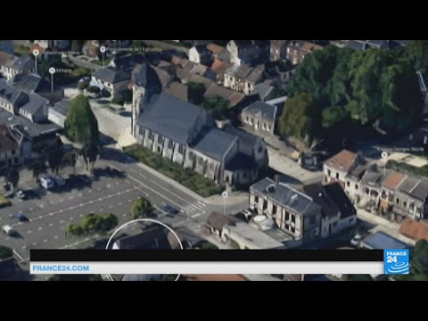 France church attack: attackers entered through rear of church, took 5 hostage and killed a priest