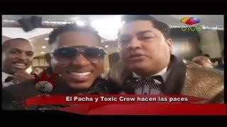 El Pachá y Toxic Crow hacen las paces en Premios Soberano thumbnail