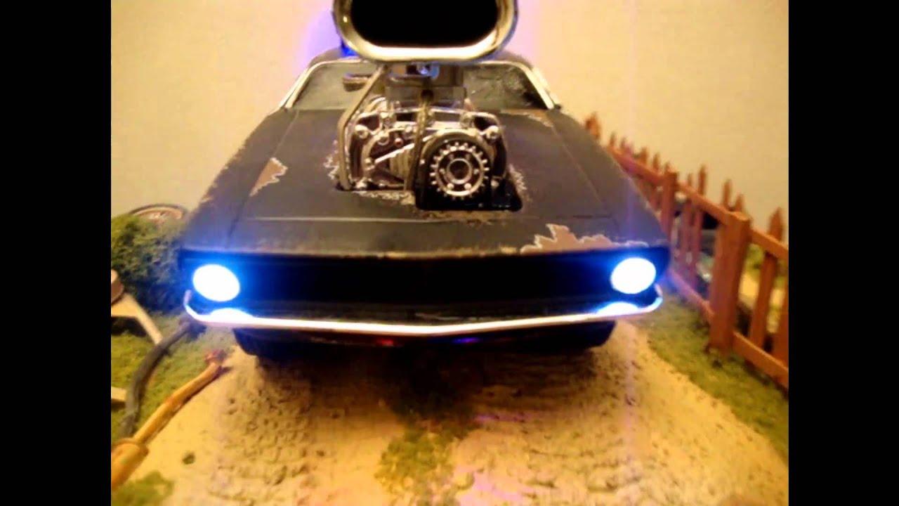 1:18 MUSCLE MACHINES 1970 CUDA WEATHERED CAR - YouTube
