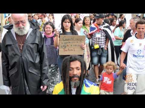 Os contrastes de São Paulo, a cidade que nunca para....