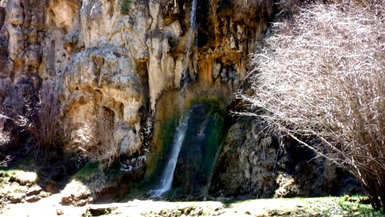 Bluff Springs Waterfall Lincoln National Forest Nm