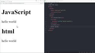 WEB2 JavaScript - 3.HTML과 JS의 만남 : script 태그