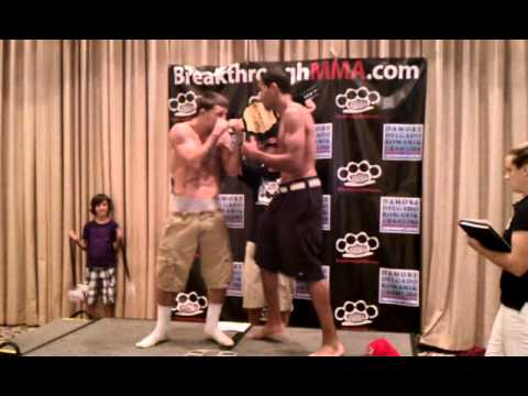 Bad Blood 2 weigh-Ins Alexander vs Perry