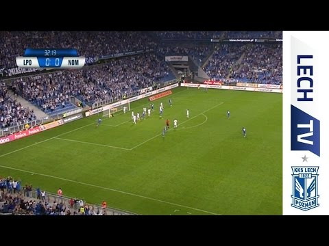 Lech Poznań - Nomme Kalju 3:0 - bramki.