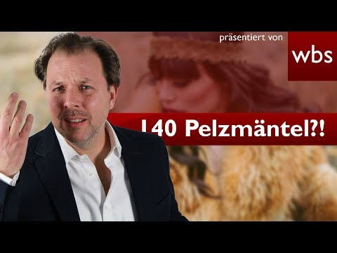 140 Pelzmäntel hat man nicht im Schrank hängen! Oder? | Rechtsanwalt Christian Solmecke