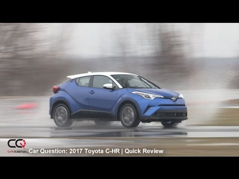 2018 Toyota C-HR Short Review | Kickass styling and FUN to drive!
