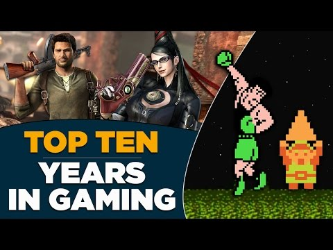 GameTrailer's Top 10 Years in Gaming (2016)