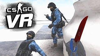CS:GO в VR: НАШЕЛ СКИНЫ НА УГАРНОМ ДЕДМАТЧЕ!