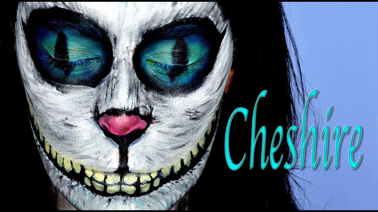Tutorial Maquillaje Cheshire Gato Alicia en el País de las ...