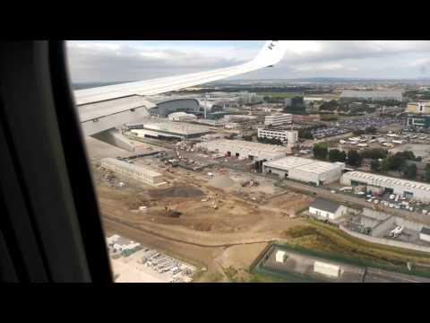 Dublin landing.