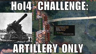 Hearts of Iron 4 Challenge: Artillery Only Actually Worked