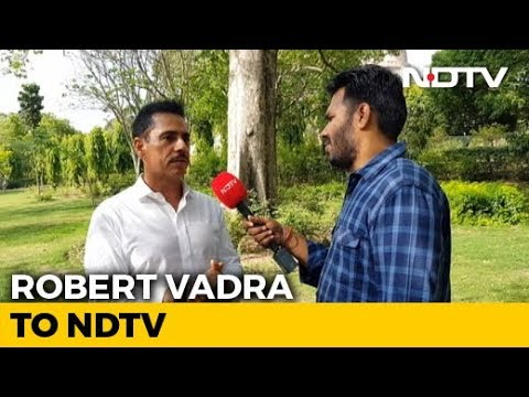 """""""I Want To Earn It"""": Robert Vadra To NDTV On Joining Politics"""