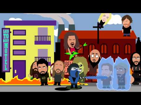 "Металісти в South Park: відео Shredhead ""Walk with the Dead"""