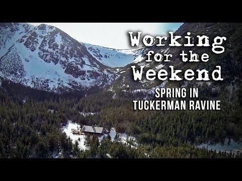 Working For The Weekend 6: Spring in Tuckerman Ravine