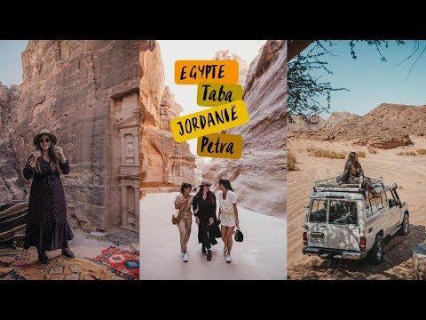 Video: Op safari in Taba, Egypte en naar het wereldwonder Petra in Jordanië