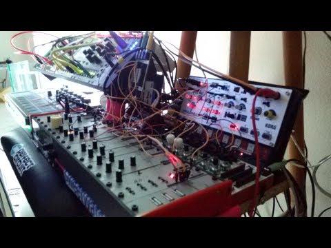 Modular Acid Jazz Fusion - AE Modular-Volca Modular-Mutable Marbles-Electribe E2