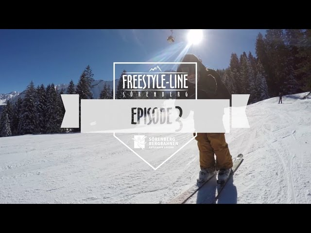 Freestyle Line Sörenberg, Episode 3, Season 16/17