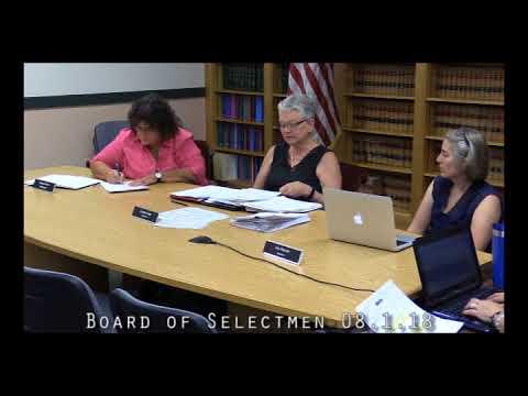 Board of Selectmen 08.27.18