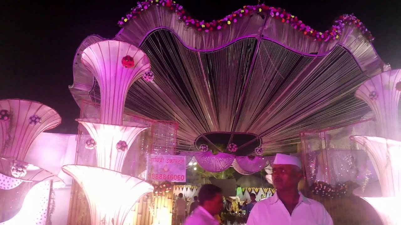 Stage Decoration for Wedding Birthday - Royal Fancy - YouTube