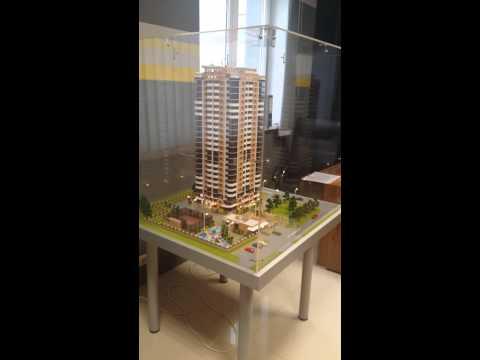 Интерактивный макет дома на Березанской
