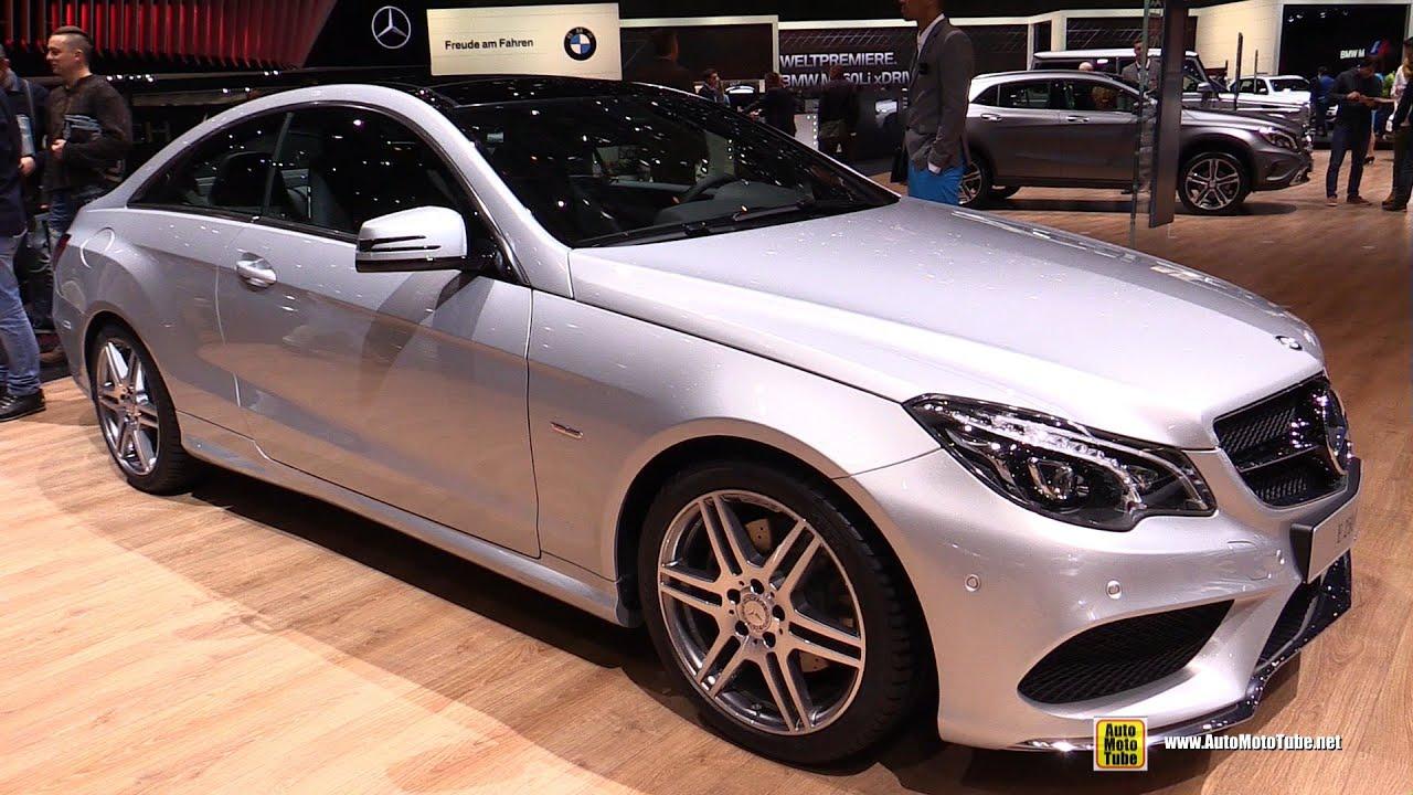 2016 Mercedes E250 Coupe Exterior And Interior