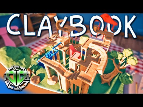 Claybook Gameplay : Create and Mould Your Own Clay Worlds! (PC Let's Play)