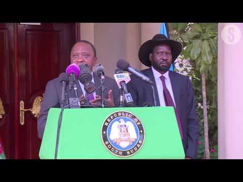 What Uhuru and Kiir agreed on during talks at Juba, South Sudan