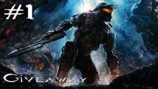 Halo 4 - Walkthrough/Gameplay - Part 1 (XBOX 360)