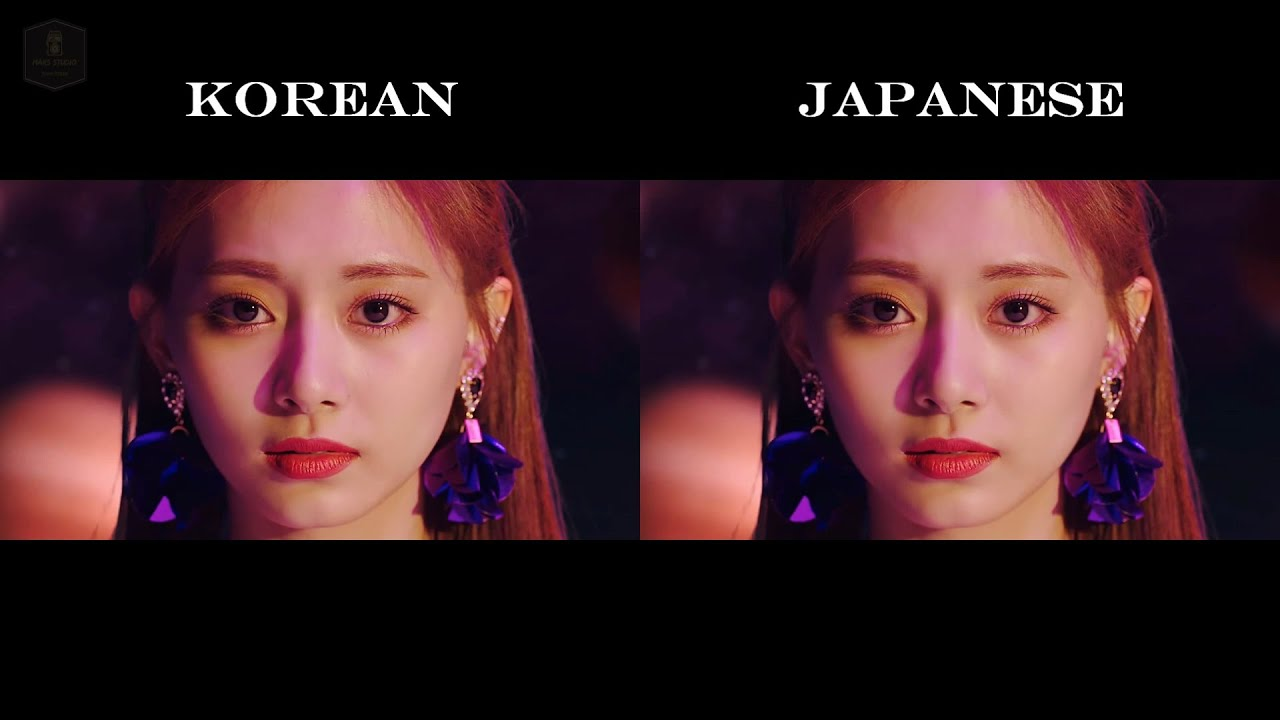 TWICE - FANCY (Korean & Japanese Ver.) MV Comparison【Full HD】