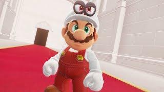 Fire Mario in Super Mario Odyssey - Final Boss & Ending