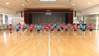 日本全国でレッツ☆うみダンス in 徳島文理大学附属幼稚園のみなさん