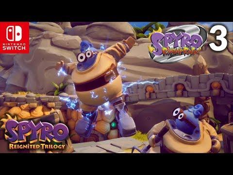 Spyro 2: Ripto's Rage! | Part 3 | Ocean Speedway & Sunny Beach | Spyro Reignited Trilogy